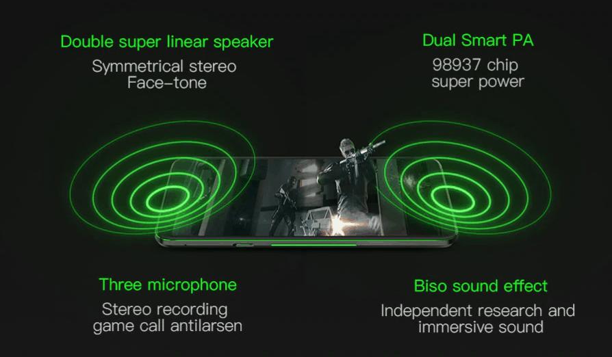 Xiaomi Blackshark 2 Helo mobile gaming phone