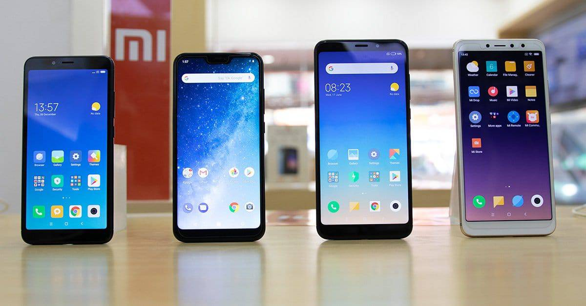 Image result for xiaomi phones together