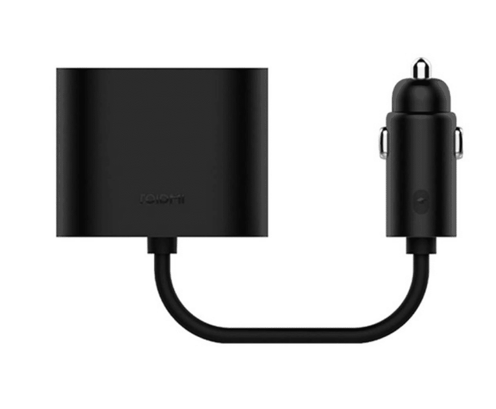 Xiaomi Dual Charging Port through Lighter