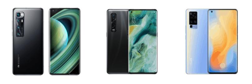 Xiaomi vs Oppo vs Vivo