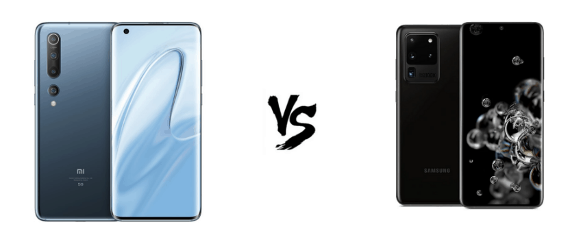 Xiaomi Mi 10 vs Samsung Galaxy S20 Ultra